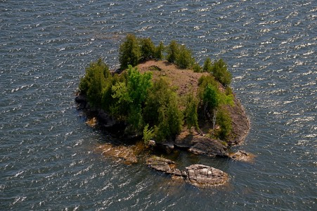 Malletts Bay Island on Lake Champlain Colchester, Vermont