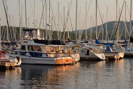 Willsboro Bay Marina Lake Champlain Willsboro, New York.