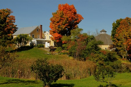 Inn at The Round Barn Waitsfield, Vermont.