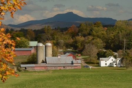 Fall farming Charlotte, Vermont.