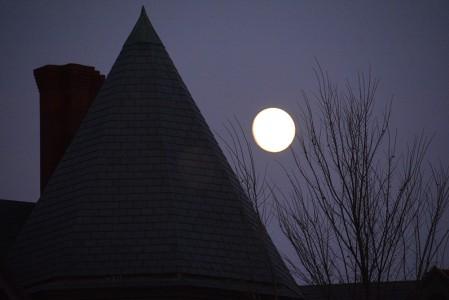 Moonrise The Inn at Shelburne Farms Shelburne, Vermont.
