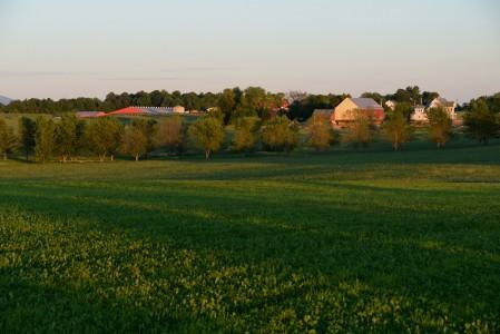 Farm in Charlotte, Vermont.