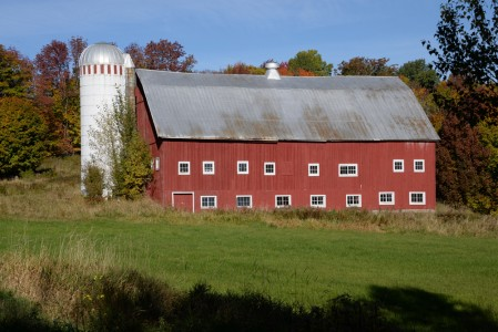 Fall Morristown, Vermont.