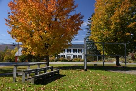 Fall foliage Irasburg, Vermont.