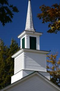 Church at Prospect Hill Brownington, Vermont.