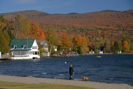 Lake Willoughby in Westmore, Vermont.