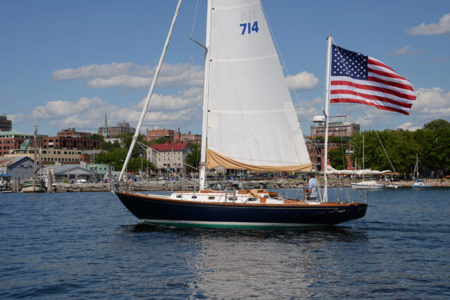 Lake Champlain sailing on the 4th of July in Burlington, Vermont.